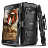 Evocel Galaxy On5 [New Generation] Rugged Holster Dual Layer Case [Kickstand]... - Chickadee Solutions - 1