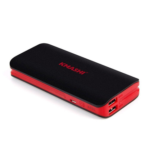 KMASHI 10000mAh External Battery Power Bank Portable Charger Backup Pack with... - Chickadee Solutions - 1