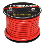 Grand General 55251 Red 12-Gauge Primary Wire - Chickadee Solutions - 1