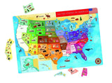 Janod Magnetic USA Map - Chickadee Solutions