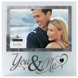 Malden International Designs Wedding Memories You and Me Frosted and Mirrored... - Chickadee Solutions