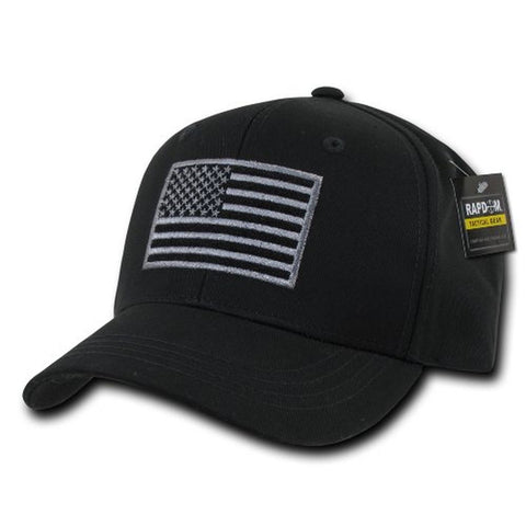 Rapdom Tactical USA Embroidered Operator Cap Black - Chickadee Solutions