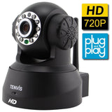 TENVIS JPT3815W-HD Wireless Surveillance IP/Network Security Camera Baby Moni... - Chickadee Solutions - 1
