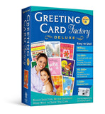 Greeting Card Factory 8.0 Deluxe [Old Version] - Chickadee Solutions - 1