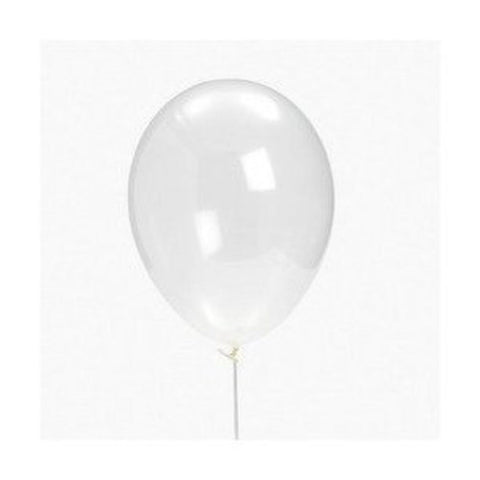 24 Diamond Clear Latex Balloons - Chickadee Solutions