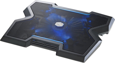 Cooler Master NotePal X3 - Gaming Laptop Cooling Pad with 200mm Blue LED Fan - Chickadee Solutions - 1