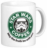 Best funny gift - 11OZ Coffee Mug - May The Froth Be With You - Perfect for b... - Chickadee Solutions