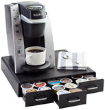 AmazonBasics Coffee Pod Storage Drawer for K-Cup Pods - 36 Pod Capacity - Chickadee Solutions - 1
