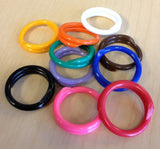 25 Poultry Spiral ID Leg Bands Standard Size 11 - Chickadee Solutions - 1