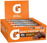 Gatorade Whey Protein Recover Bars Chocolate Chip 2.8 ounce bars (12 Count) - Chickadee Solutions - 1