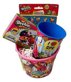 Shopkins Birthday Gift Basket Bundle Mega Season 5 Game Cards Surprise Toy Fi... - Chickadee Solutions - 1