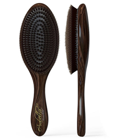 100% Natural Boar Bristle Hair Styling Brush -Classic Looking Oval Shaped Bes... - Chickadee Solutions - 1