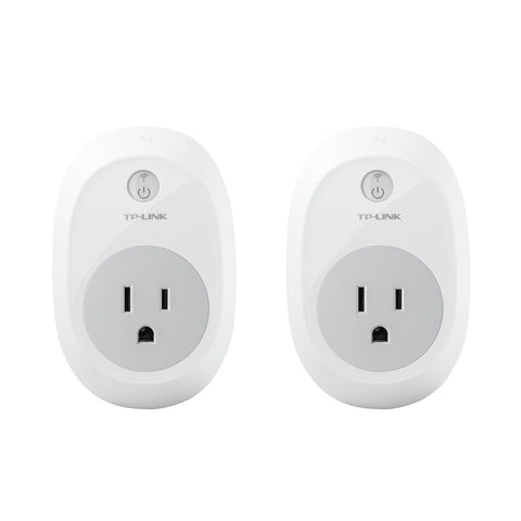 TP-Link HS100 Smart Plug (2-Pack) Wi-Fi Works with Alexa Control Your Devices... - Chickadee Solutions - 1