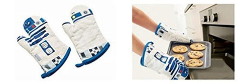 Star Wars R2-D2 Oven Mitts - Set of 2 - Chickadee Solutions