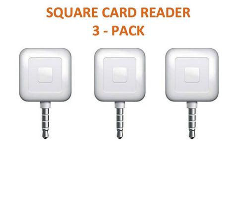 3 PACK - Square Card Readers - Chickadee Solutions - 1