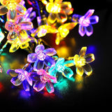 WishWorld Outdoor Solar Fairy String Lights Waterproof Blossom Flower Light 2... - Chickadee Solutions - 1