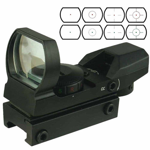 Field Sport Red and Green Reflex Sight with 4 Reticles Field Sport - Chickadee Solutions - 1