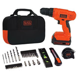 Black & Decker BDCD120VA 20V Lithium Drill/Driver Project Kit - Chickadee Solutions - 1
