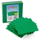 "Brick Building Base Plates By SCS - Small 5""x5"" Green Baseplates (10 Pack) - ... - Chickadee Solutions - 1"
