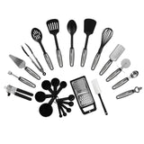 NexGadget Premium Kitchen Utensils 25 Pieces Kitchen Utensils Sets Stainless ... - Chickadee Solutions - 1