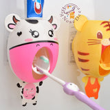 BigNoseDeer baby Toothbrush Dispenserskids Hands Free Toothpaste Dispenser ch... - Chickadee Solutions - 1