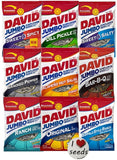 David Sunflower Seeds 9 Pack Variety (5.25 oz each) Includes Bonus Magnet - Chickadee Solutions