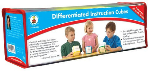 Carson-Dellosa Publishing Differentiated Instruction Cubes - Chickadee Solutions - 1
