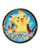 "American Greetings Pokemon Round Plate (8 Count) 9"" - Chickadee Solutions - 1"