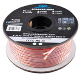 C&E 100 Feet 12AWG Enhanced Loud Oxygen-Free Copper Speaker Wire Cable CNE62270 - Chickadee Solutions - 1