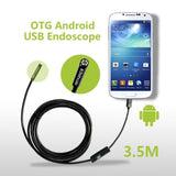Fantronics 7mm Android Endoscope OTG Micro USB Endoscope Waterproof Borescope... - Chickadee Solutions - 1