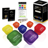 Portion Control Containers by DeLa'Casa FREE DIET & FITNESS e-JOURNAL BODY ... - Chickadee Solutions - 1