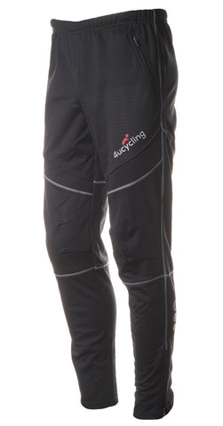 4ucycling Windproof Athletic Pants for Outdoor and Multi Sports Black - Chickadee Solutions - 1