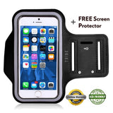 Tribe AB66 Water Resistant Sports Armband with Key Holder for iPhone 6 Plus 6... - Chickadee Solutions - 1