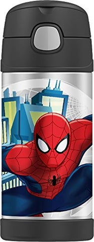 Thermos Funtainer 12 Ounce Bottle Spiderman - Chickadee Solutions