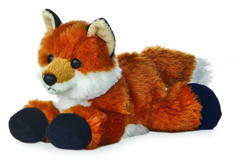 "Foxie Fox Mini Flopsie 8"" by Aurora - Chickadee Solutions - 1"