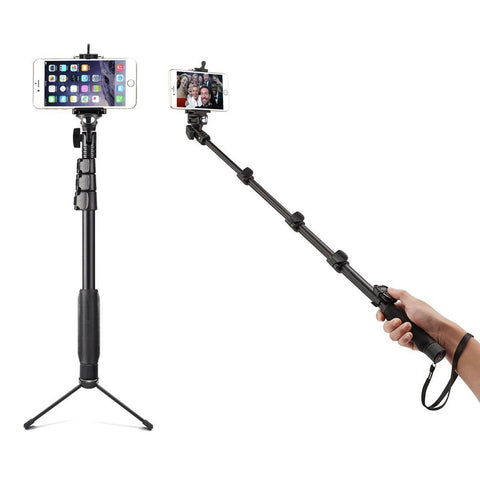 Accmor AC-13TR 18-50-Inch Self-Portrait Extendable Monopod for iOS & Android ... - Chickadee Solutions - 1
