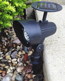 4Pack Solar Spotlight Outdoor Super Bright Solar Lights Solar Pathway Lights - Chickadee Solutions