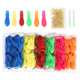 600 PCS Water Balloons Refill Kit for Used Straws - 6 Assorted colors New Ver... - Chickadee Solutions - 1