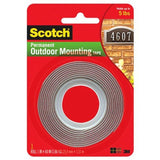 Scotch Exterior Mounting Tape 1-Inch by 60-Inch 1 Pack - Chickadee Solutions