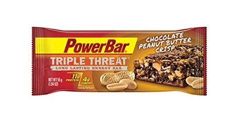 PowerBar Triple Threat Protein Recovery Snack Bar Chocolate Peanut Butter Cri... - Chickadee Solutions - 1