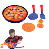Dazzling Toys Pizza Pie Party + Cooking & Cutting Accessories Play Set Toy fo... - Chickadee Solutions - 1