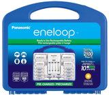 Panasonic KJ17MCC82A Eneloop Power Pack for 8AA 2AAA 2 C Spacers 2 D Spacers ... - Chickadee Solutions - 1