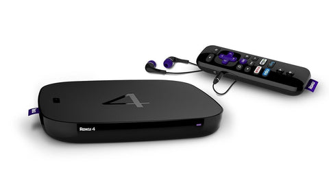 Roku 4 Streaming Media Player (4400R) 4K UHD - Chickadee Solutions - 1
