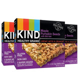 KIND Healthy Grains Granola Bars Maple Pumpkin Seeds with Sea Salt Gluten Fre... - Chickadee Solutions - 1