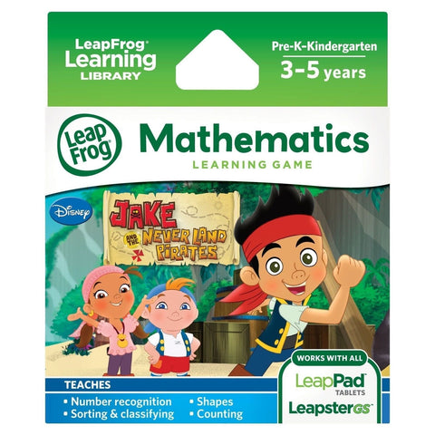 LeapFrog Jake and The Never Land Pirates Learning Game - Chickadee Solutions - 1