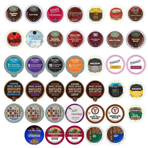 Coffee Variety Sampler Pack for Keurig K-Cup Brewers 40 Count (12.69 oz ) - Chickadee Solutions - 1