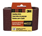 3M 9285NA-2 Heavy Duty Power Sanding Belts 3-Inch by 21-Inch Eby. Coarse 40 g... - Chickadee Solutions