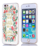 6S Case quotes Apple Iphone 6 Case though she be but little she is fierce quo... - Chickadee Solutions - 1