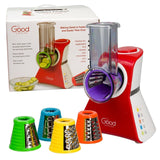 Salad Maker - Electronic Shredder Slicer Chopper & Shooter By Good Cooking - Chickadee Solutions - 1