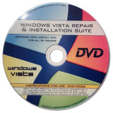 Windows Vista Re-Install Reinstallation Repair Recovery For All 32 Bit 64 Bit... - Chickadee Solutions